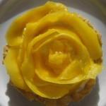 Bild eines Mangotartletts.