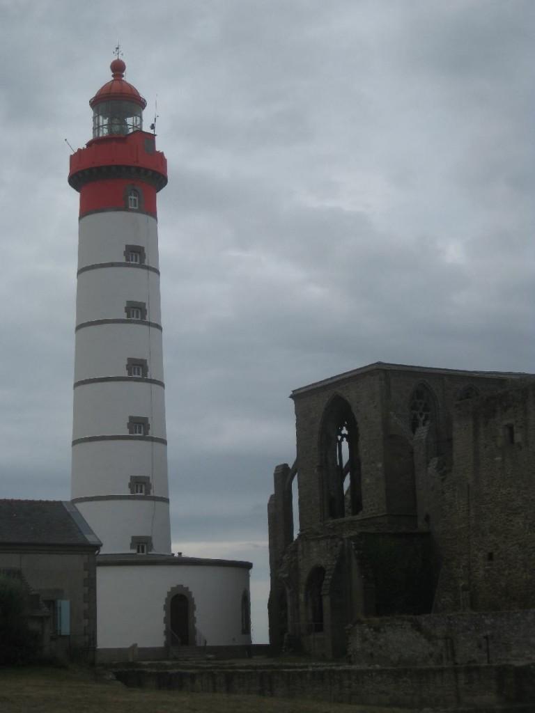Der Leuchtturm Saint-Matthieu in der Bretagne