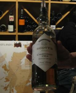 Die Flasche des Caledonian 1964