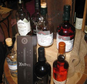 Das Line-Up unseres Tastings