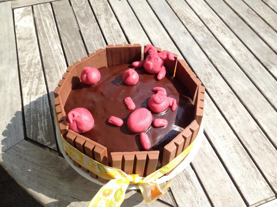 Schweine Im Schlamm Torte