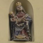 brocke Madonnenstatue in Bamberg