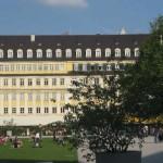 Die Fassade des Dallmayr-Hauses