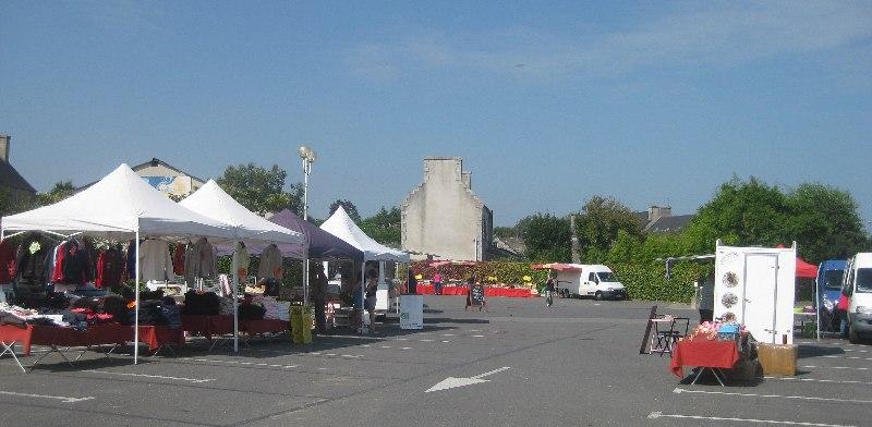 Sonntagsmarkt in Kerlouan