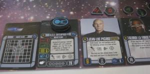 Crewcarten mit Jean-Luc-Picard