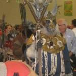 Fantasy-Rollenspieler als nordische Fellmonsterkönige