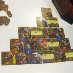 Kartenpyramide im Spiel Viceroy