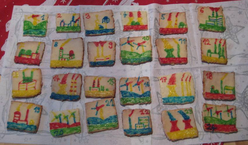 Alle Kekse meines Funkenschlagadventskalenders
