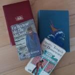 Vier gebrauchte Bücher von Henri Quéffelec