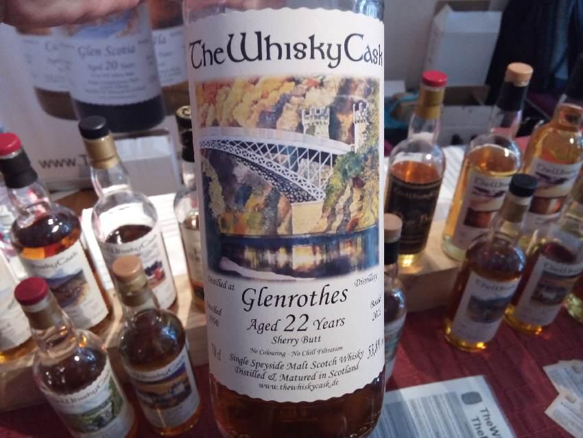 Flasche eines 22 Jahre alten Glenrothes
