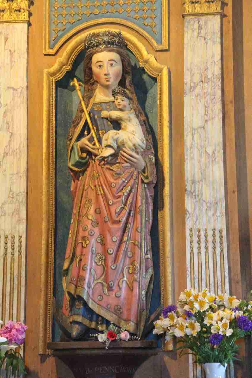 Marienstatue, Notre Dame de Penhors