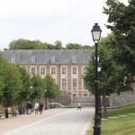 Historischer Gebäudezug in der Altstadt von Amiens