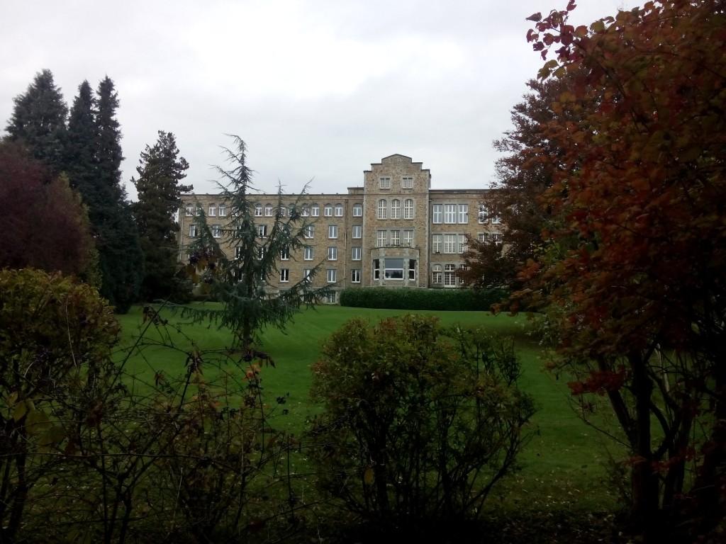 Blick auf das Haupthaus von La Pairelle in Wépion