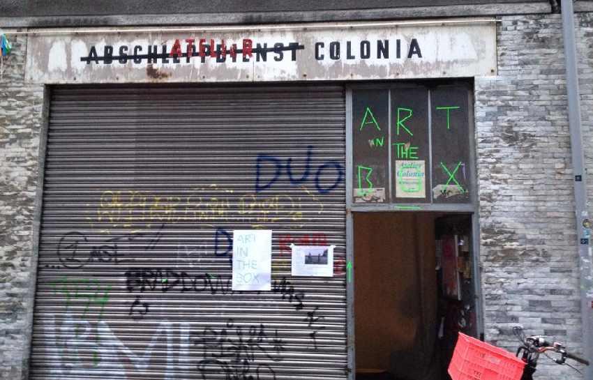 Das Atelier Colonia in Ehrenfeld von außen