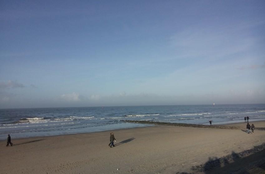 Nordstrand von Norderney bei Sonnenschein