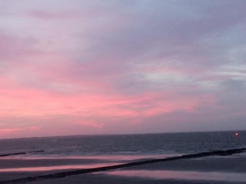 Abendrot auf Norderney