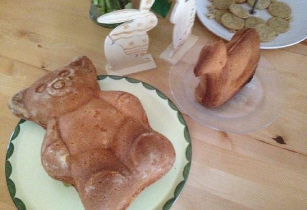 Gebackener Teddybär