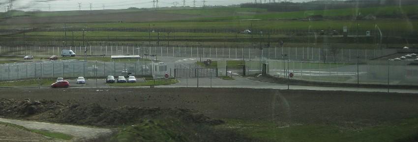 Grenzzäune rund um Calais