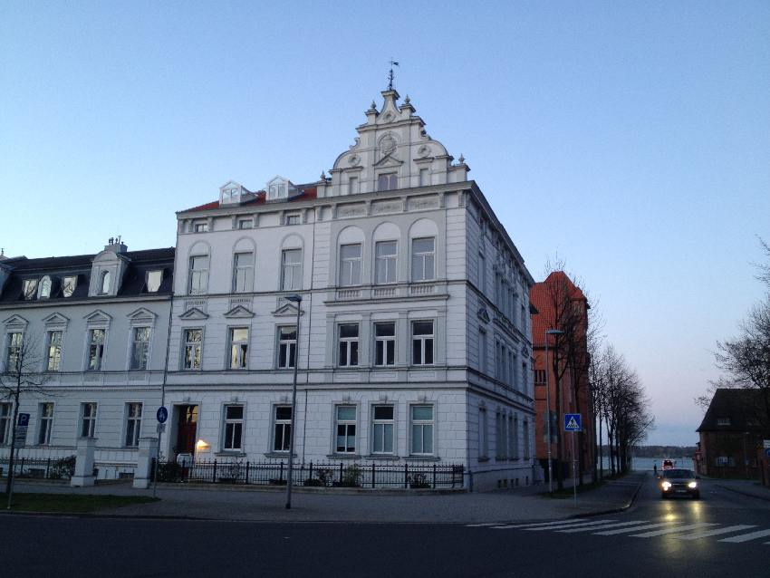 Historische Fassade in Stralsund