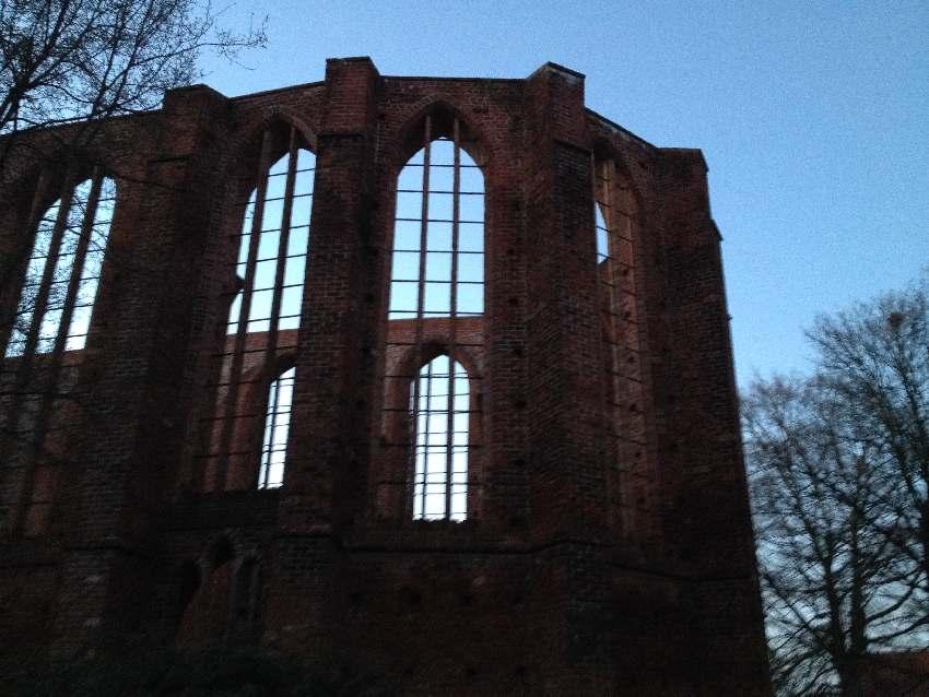Chor des Johannisklosters in Stralsund