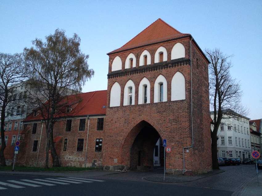 Stadttor zur Altstadt in Stralsund