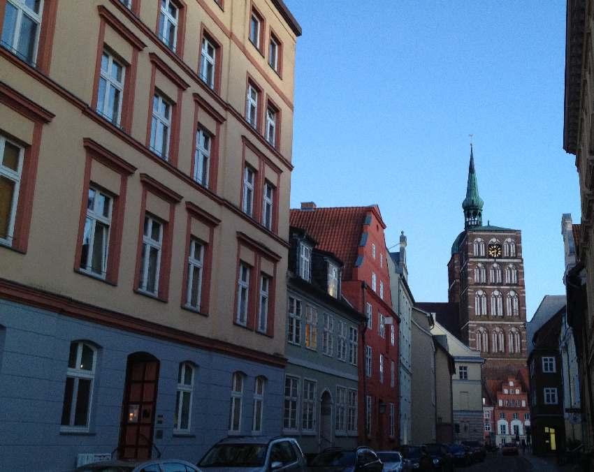 Blick in die Altstadt von Stralsund