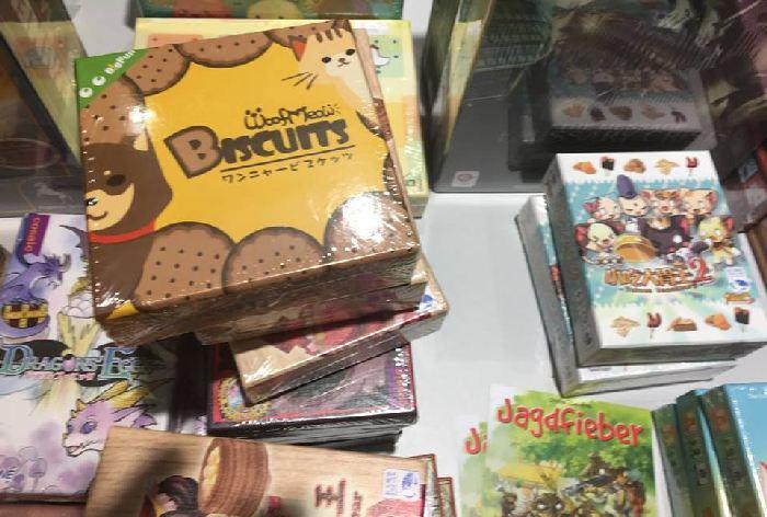 kleine japanische Kartenspiele mit niedlichen Comicbildern