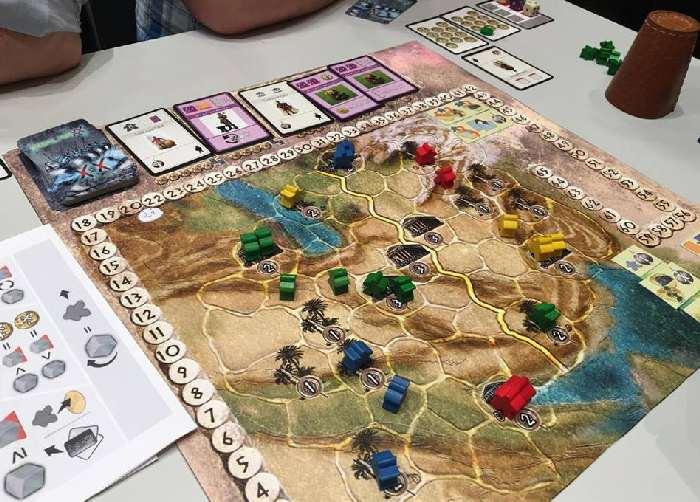 Spielbrett von Phalanxx von Iron Games