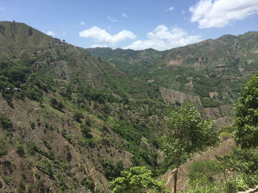 Berge rund um Jocotán in Guatemala