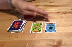 Kleine Kartenauslage bei Circus Flohcati