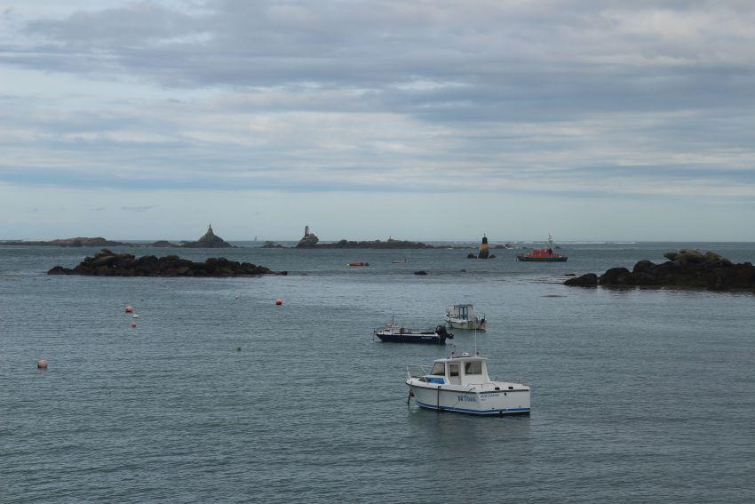 Blick auf die Bucht von Portsall