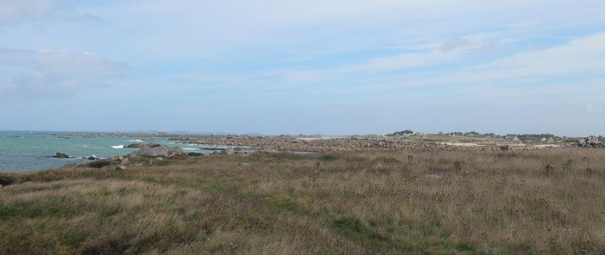 Küste bei Plouescat in der Bretagne