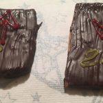 Karte mit 1 und Keks mit 24