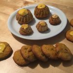 Kürbis-Gugls und Kürbis-Kekse