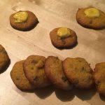 Kürbiskekse mit Schokostückchen