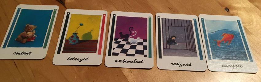 "Emotionskarten von ""... and then we held hands"""