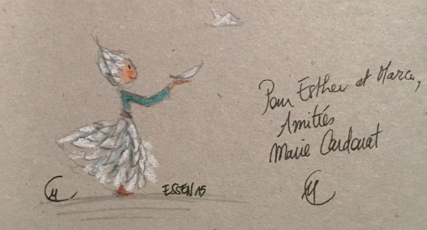 """""""Zeichnungn von Marie Cardouat"""