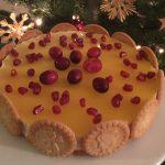 Zimt-Quark-Orangen-Torte