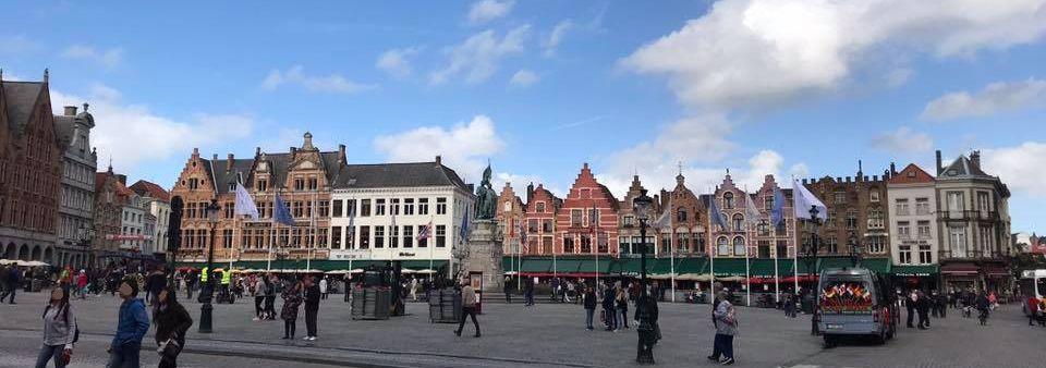Oude Markt, der Alte Markt, in Brügge